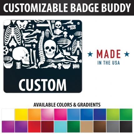 Custom Badge Buddy X-RAY Radiology theme Horizontal