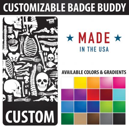 Custom Badge Buddy X-RAY Radiology theme Vertical