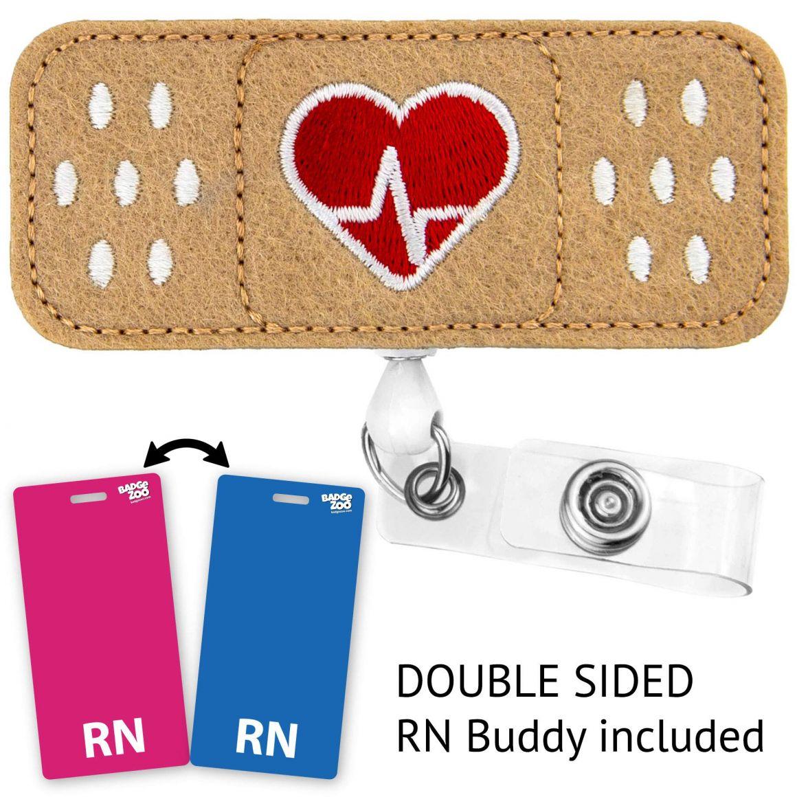 badge reel heart reel heart badge reel pediatric badge reel heart badge nurse badge reel