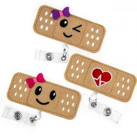 Nurse Badge Reel Bandage